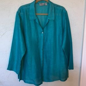 CHICO   SILK and LINEN Blouse